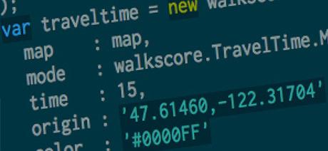 Walk Score APIs