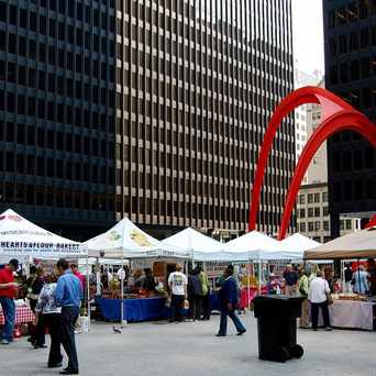 Photo of Federal Plaza Farmers Market in Chicago