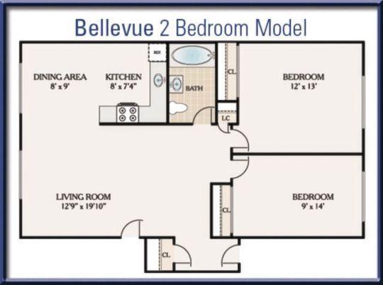 Bellevue Court Apartments Penndel Pa Walk Score