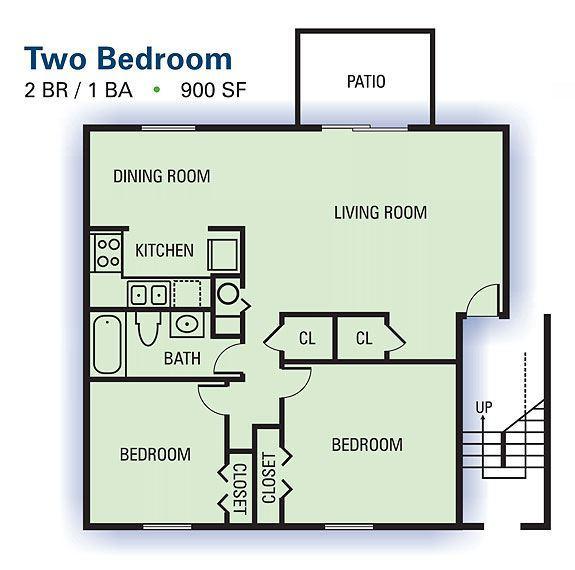 Bradford ridge apartments forest park ga walk score for 900 sq ft house plans with car parking