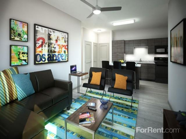 apartments ranges from 999 for a one bedroom to a 640 four bedroom