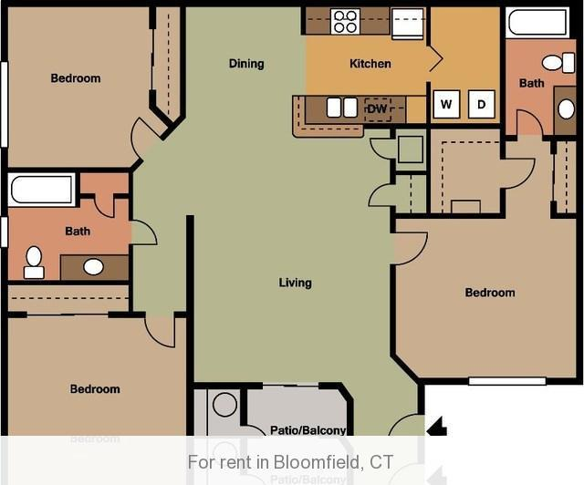Apartment at Bloomfield photo #1