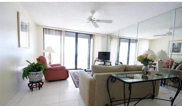 CRESCENT BEACH CLUB located on Sand Key. Parking Available! - This two bedroom, two bath direct Gulf front condominium is offered furnished on an annual basis