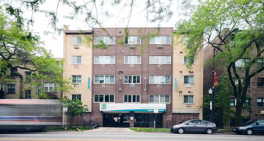 This rental is a Chicago apartment North Sheridan. photo #1