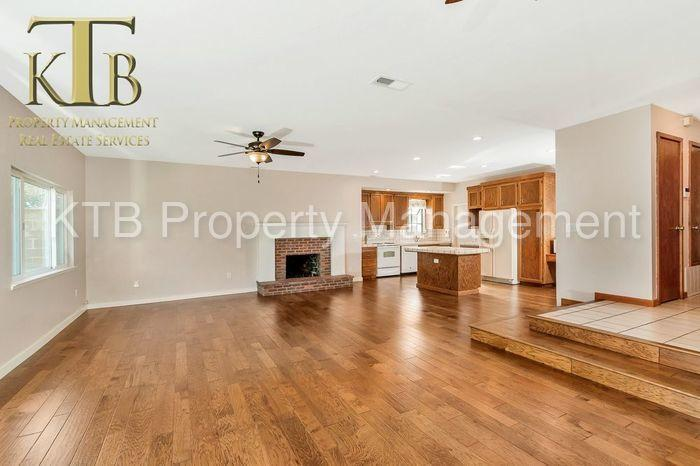Updated home with hardwood flooring.