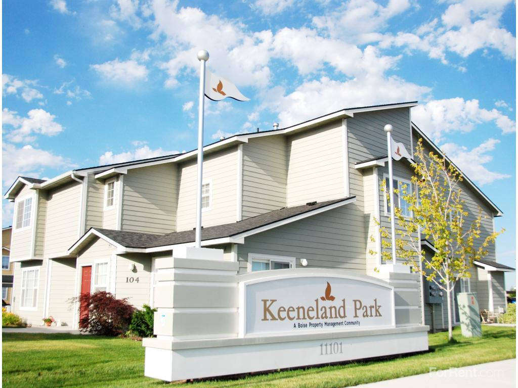 keeneland park apartments, boise city id - walk score