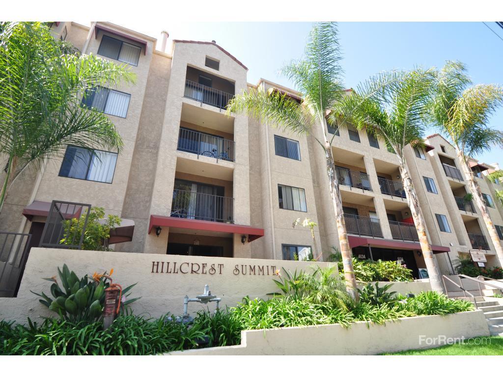 Hillcrest Summit Apartments San Diego CA Walk Score