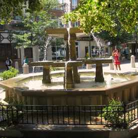 Photo of Giddings Plaza