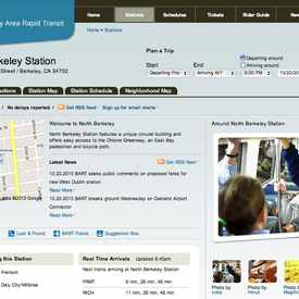 Photo of North Berkeley BART Station, Sacramento Street, Berkeley, CA