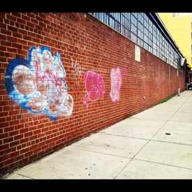 Photo of Paint On brick