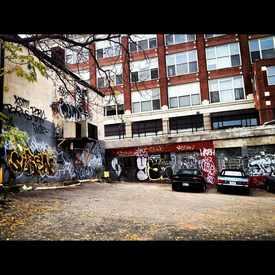 Photo of Graffiti In Local Lot