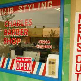 Photo of Charles Barber Shop, Cam