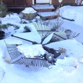 Photo of Recycled Summer Yard Sculptures