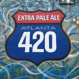 Photo of Sweetwater 420 Pale Ale Street Art