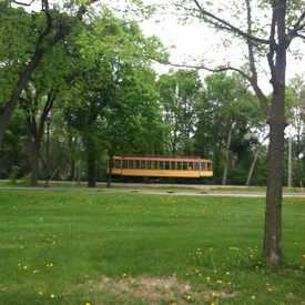 Photo of Trolley Car Press