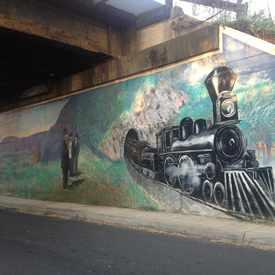 Photo of Crozet Mural