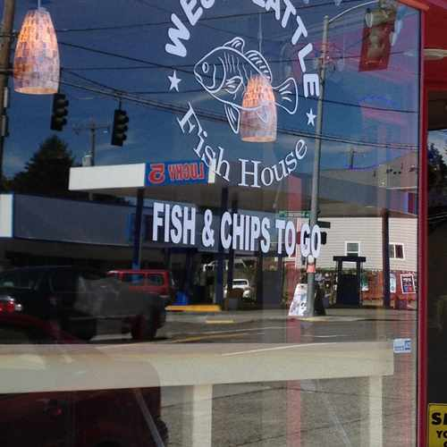photo of West Seattle Fish House at 35th Avenue Southwest Seattle WA US