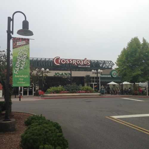 photo of Crossroads Shopping Center at 15600 Northeast 8th Street Bellevue WA 98007
