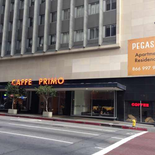 photo of Caffe Primo at 612 South Flower Street Los Angeles CA 90017