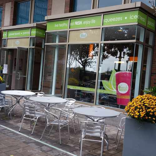 photo of Fresh Healthy Cafe at 77 Hudson Street Jersey City NJ 07302
