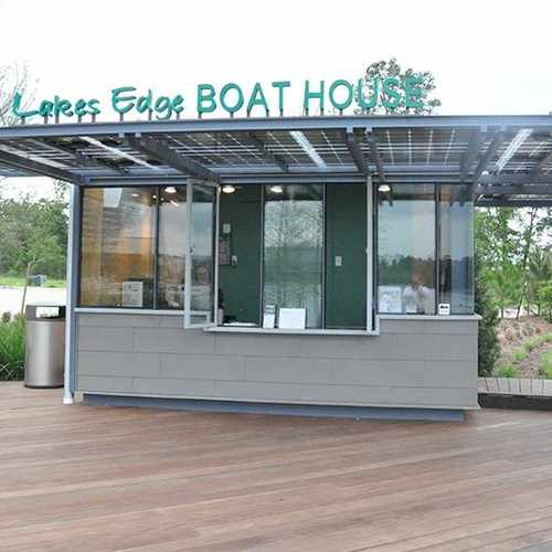 photo of Lakes Edge Boat House at 1950 Hughes Landing Boulevard The Woodlands TX 77380