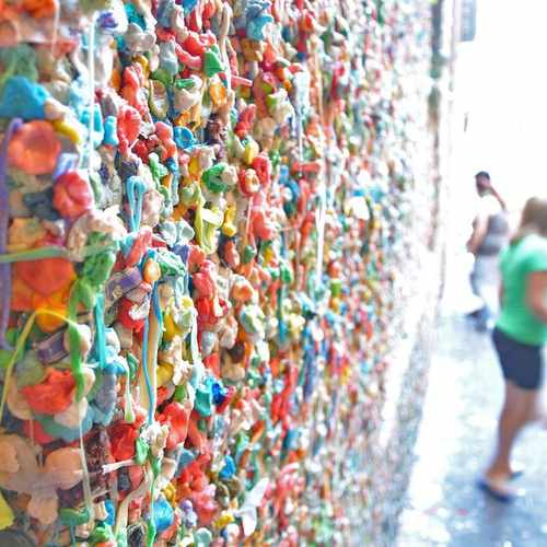 photo of Pike Place Market Gum Wall at 1531 Western Avenue Seattle WA 98101