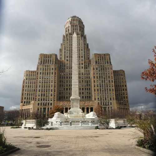 photo of Buffalo City Hall at 65 Niagara Square Buffalo NY 14202