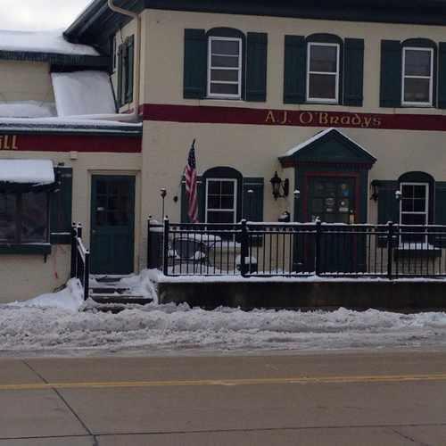 photo of A J O'bradys Irish Pub at Main Street Menomonee Falls WI 53051