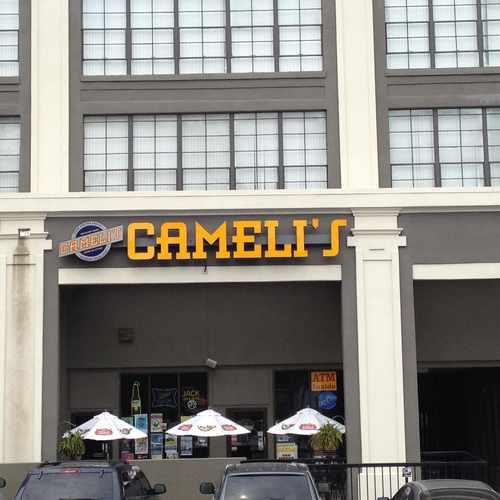 photo of Cameli's Gourmet Pizza Joint at 699 Ponce De Leon Avenue Northeast Atlanta GA 30308