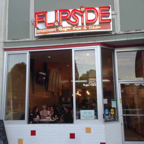 photo of Flipside Burgers, Fries and Shakes at 3505 Lakeshore Avenue Oakland CA 94610