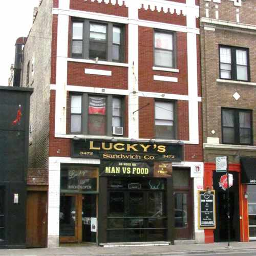 photo of Lucky's Sandwich Co at 3472 North Clark Street Chicago IL 60657