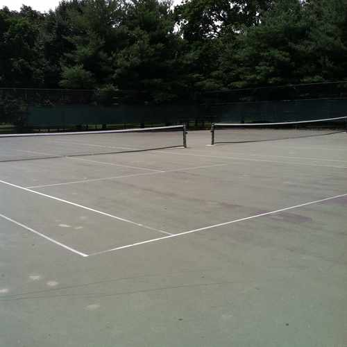 photo of Vancourtlandt Park Tennis Courts, Bronx, NY at Old Putnam Trail Bronx NY 10471