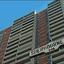 Rental info for Sherbourne and Bloor : 545 - 555 Sherbourne Street , 0BR in the Banbury-Don Mills area