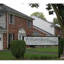 Rental info for Williamsburg Way in the Columbus area