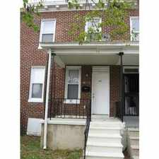 Rental info for Beautiful 3 bedroom, 1 Bath Rowhome Finished Basement with private back yard.Won't last long! Section 8, RAC, etc Welcome! in the East Baltimore Midway area