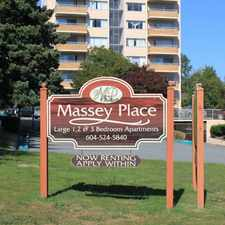 Rental info for Massey Place in the Burnaby area