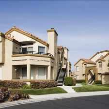Rental info for Vista Del Lago