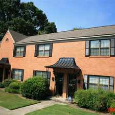 Rental info for Roswell Court Condominiums in the South Tuxedo Park area