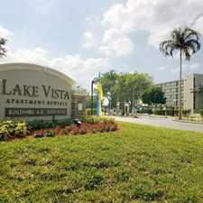 Rental info for Lake Vista Apartment Rentals in the Pembroke Pines area