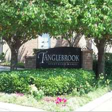 Rental info for Tanglebrook in the Houston area