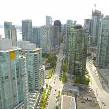 Rental info for Bayview at Coal Harbour