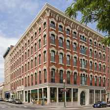 Rental info for 1 bedroom Available for November move-in! Historic Building with Modern Apartments! Heat and Hot Water Included! Income Restrictions Apply