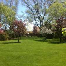Rental info for Two Residential lots adjacent to forest preserve