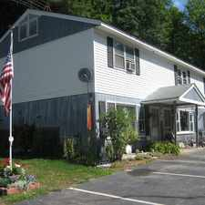 Rental info for Apartments for rent Warner, NH - Kearsarge Apartments