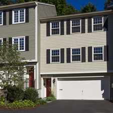 Rental info for 64 Linden St, Wellesley: Fabulous townhouse in Wellesley Center has it all!