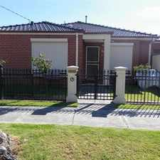 Rental info for SIMPLY AMAZING PROPERTY in the Melbourne area