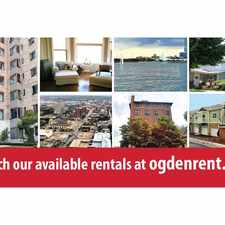 Rental info for Ogden Properties in the Juneau Town area