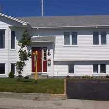 Rental info for 47 Branscombe St in the St. John's area
