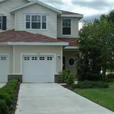Rental info for Beautiful townhouse in Lakeside Plantation in the North Port area