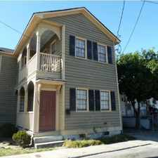 Rental info for Downtown Charleston 4 Bedroom 2.5 Bath Home East Side with Fence Yard in the Charleston area